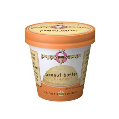 Peanut Butter - Ice Cream for Dogs
